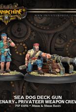 Warmachine Mercenaries - Deck Gun