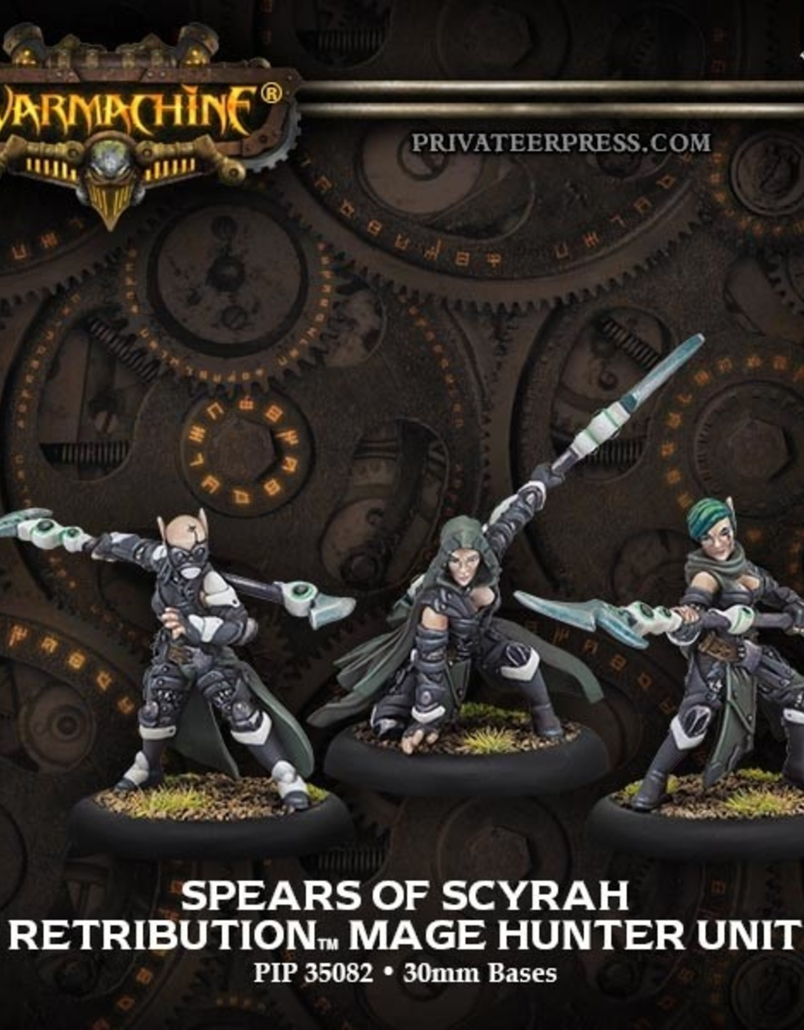 Warmachine Scyrah - Spears of Scyrah