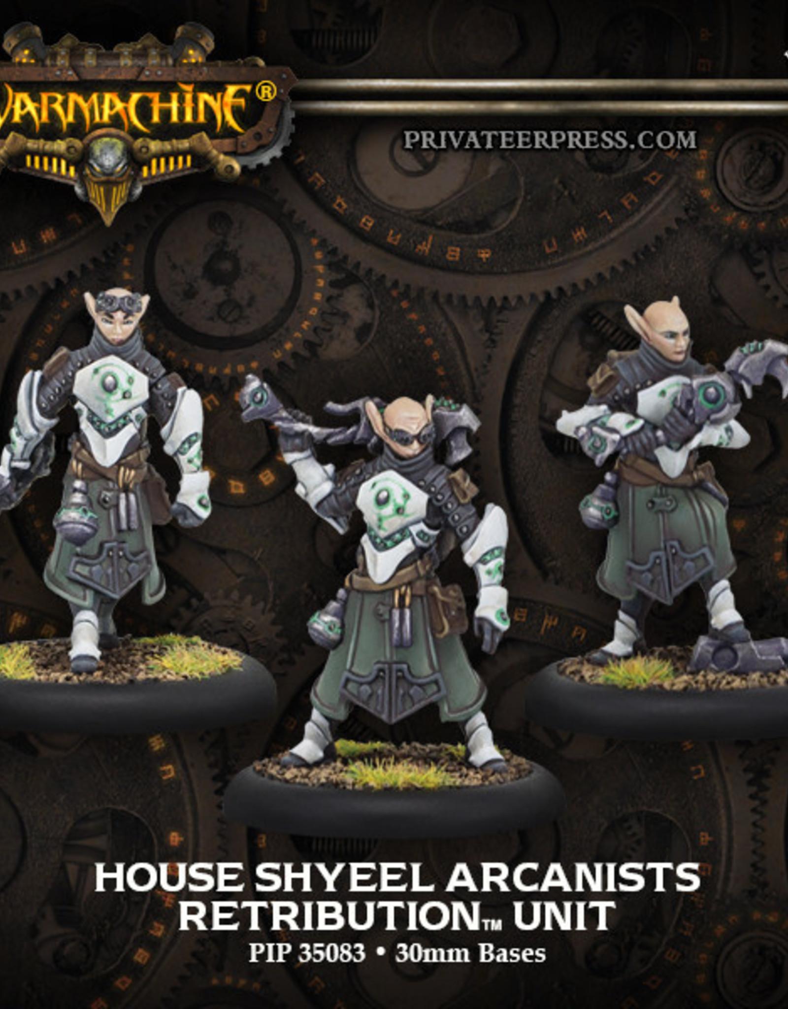 Warmachine Scyrah - House Shyeel Arcanists