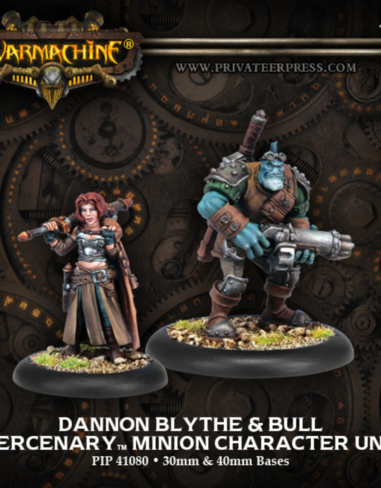 Warmachine Mercenaries - Dannon Blythe & Bull
