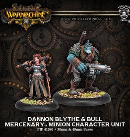 Warmachine Mercenaries - Dannon Blythe & Bull