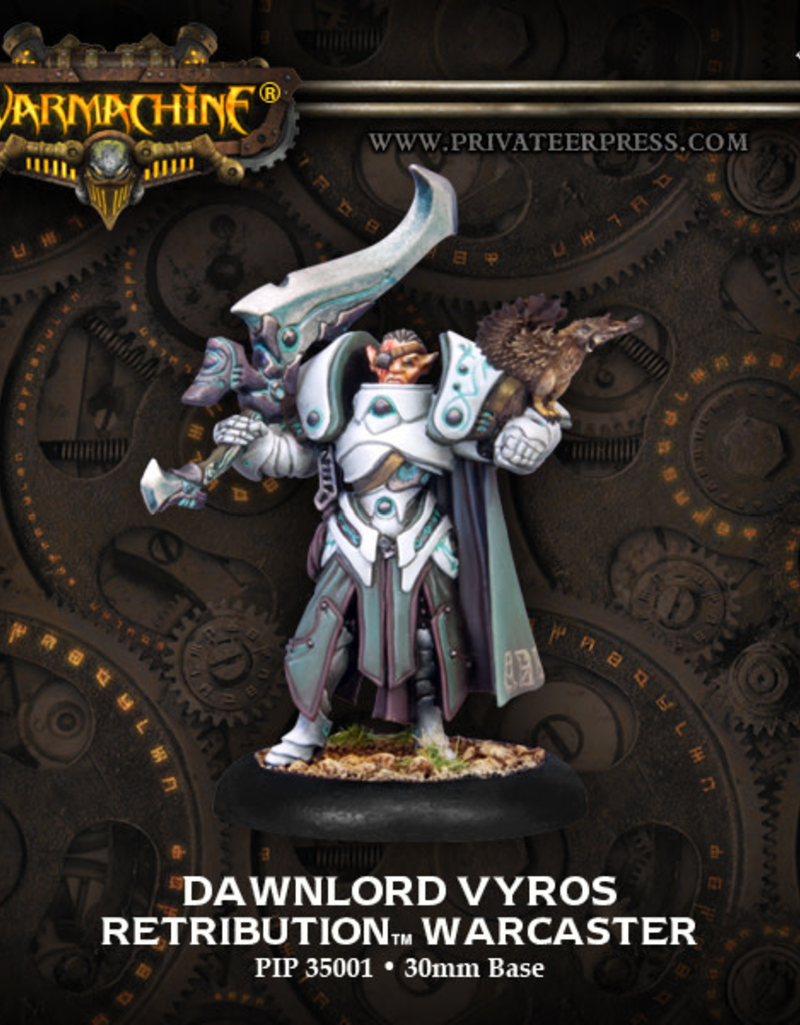 Warmachine Scyrah - Dawnlord Vyros