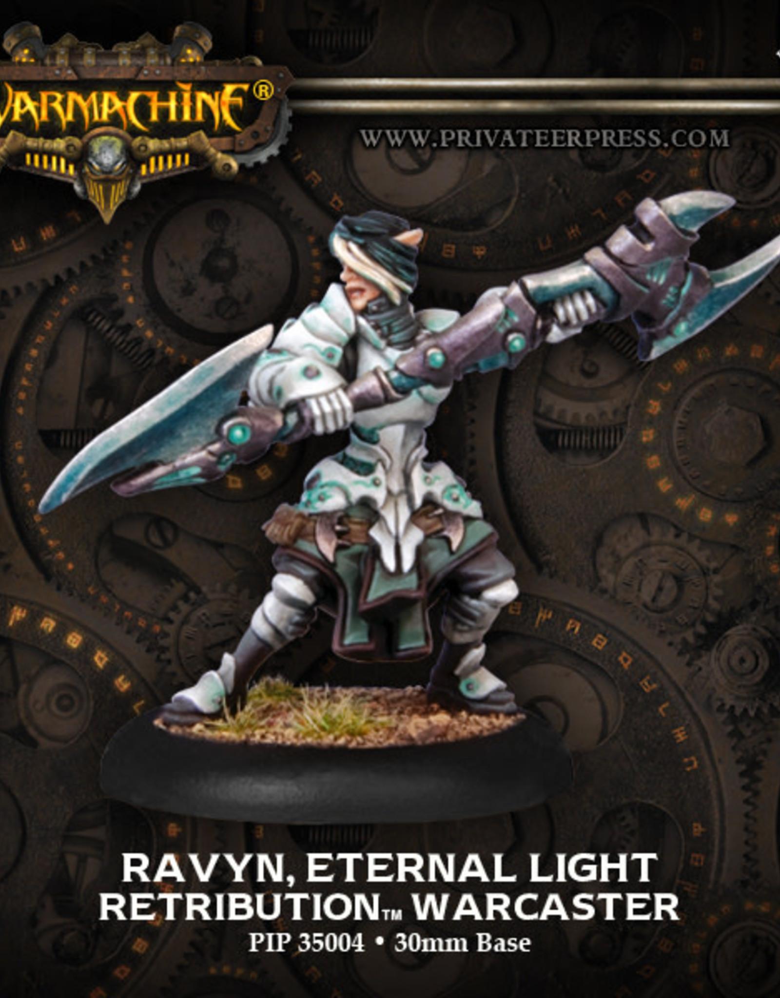 Warmachine Scyrah - Ravyn Eternal Light