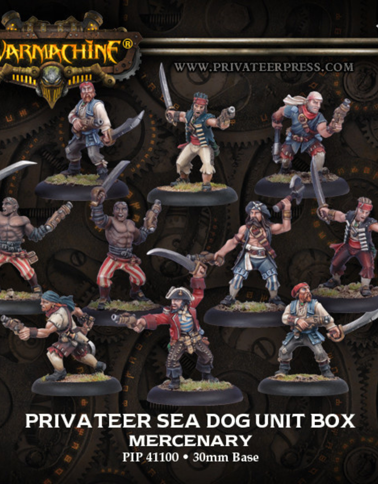 Warmachine Mercenaries - Sea Dog Crew