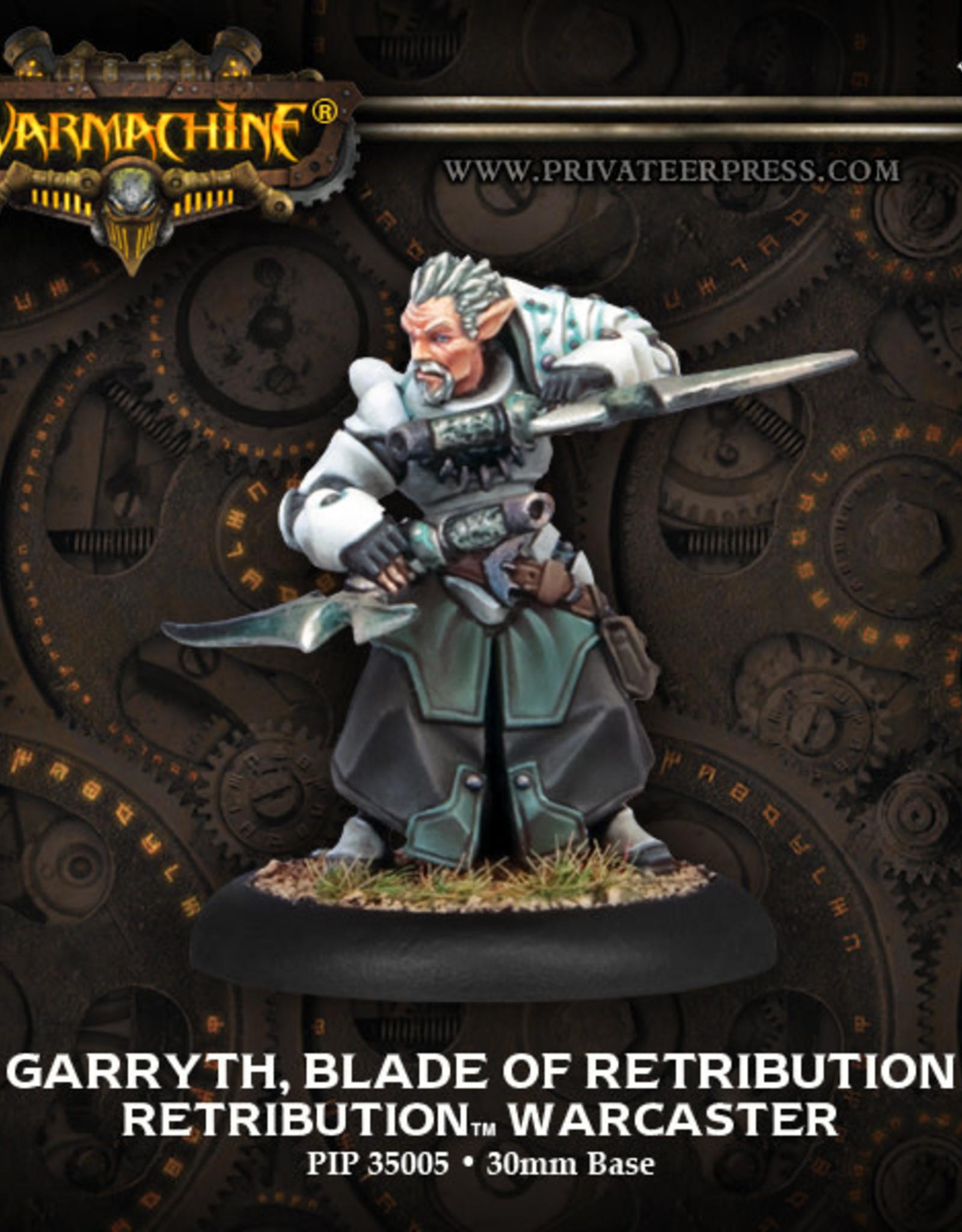 Warmachine Scyrah - Garryth