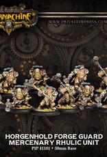 Warmachine Mercenaries - Horgenhold Forge Guard