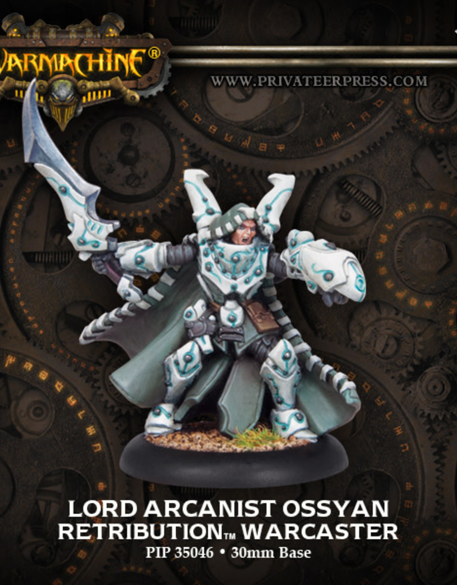 Warmachine Scyrah - Lord Arcanist Ossyan