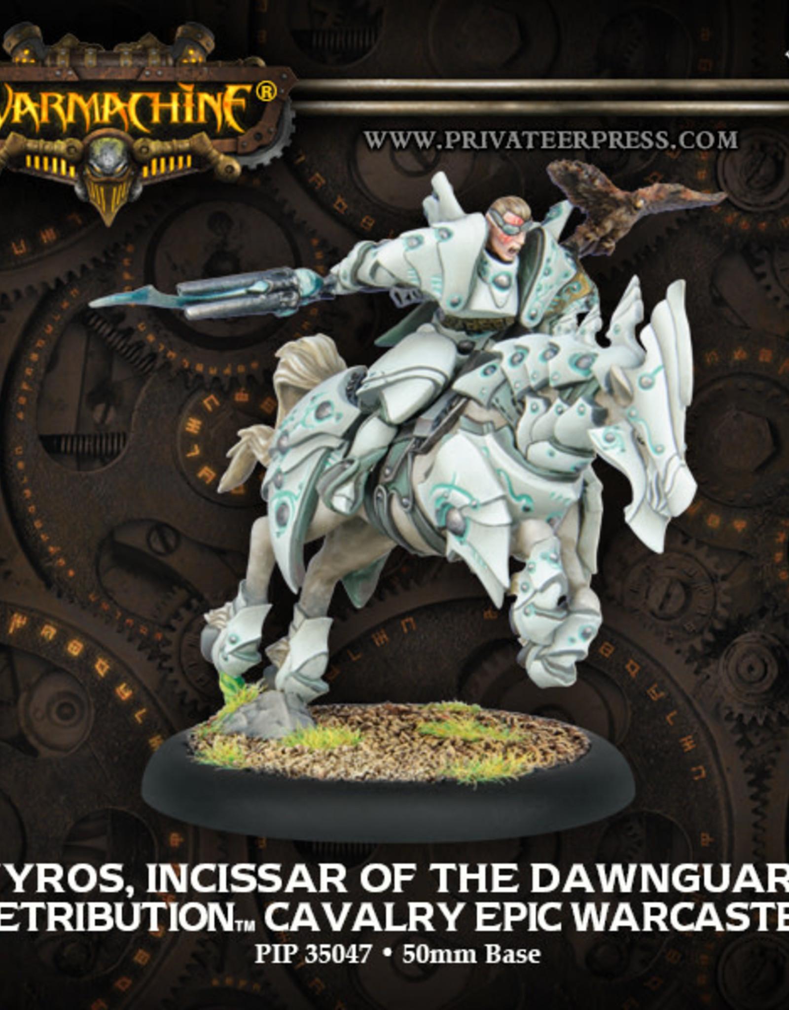 Warmachine Scyrah - Vyros, Incissar of the Dawnguard