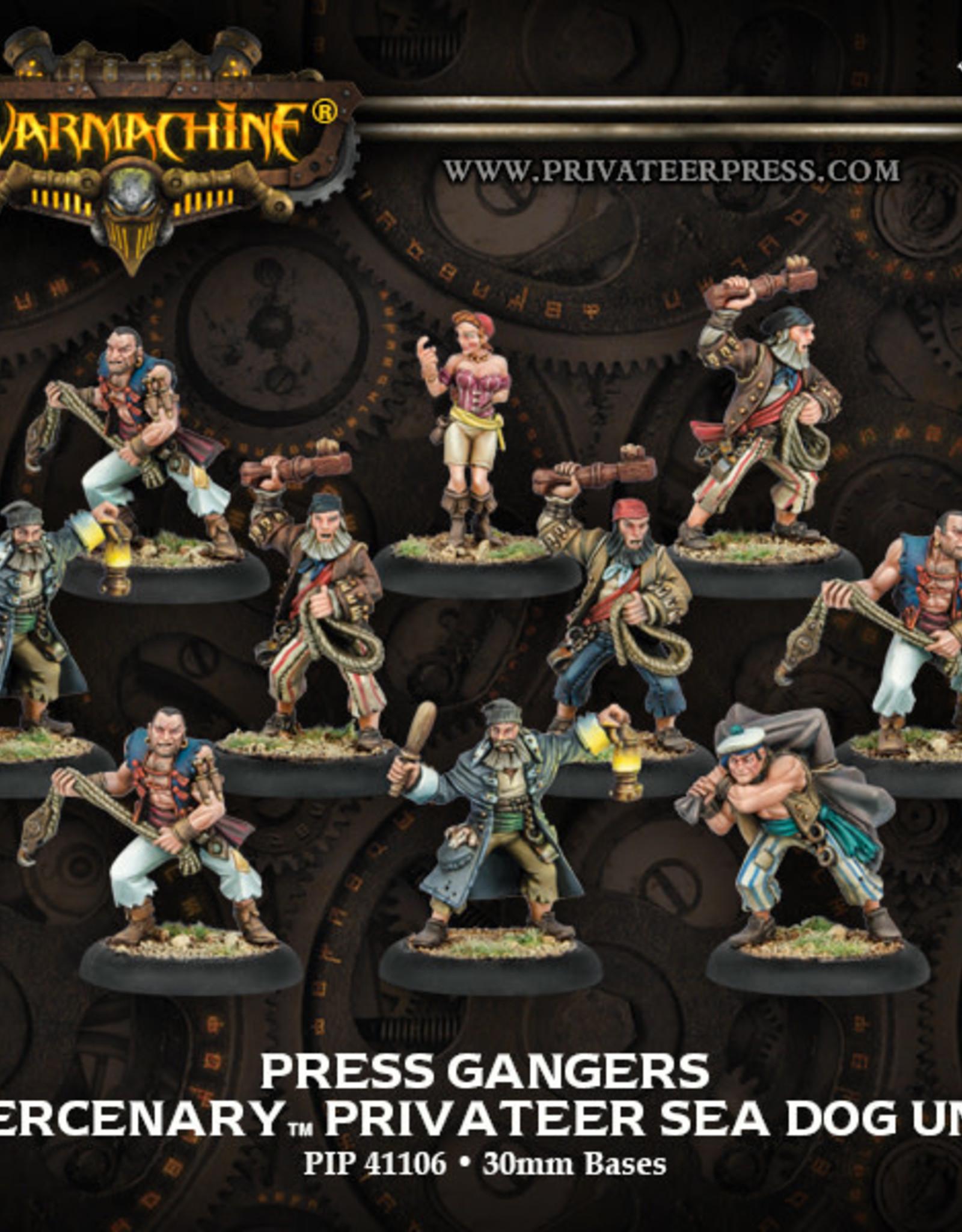 Warmachine Mercenaries - Press Gangers