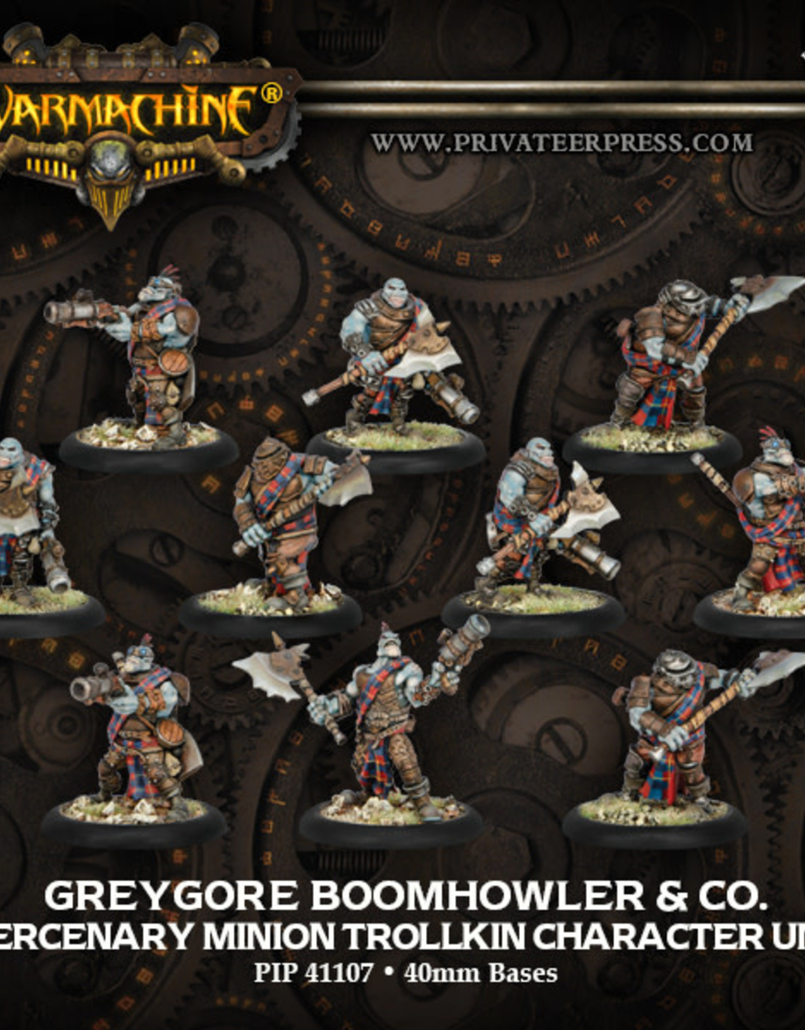 Warmachine Mercenaries - Boomhowler & CO