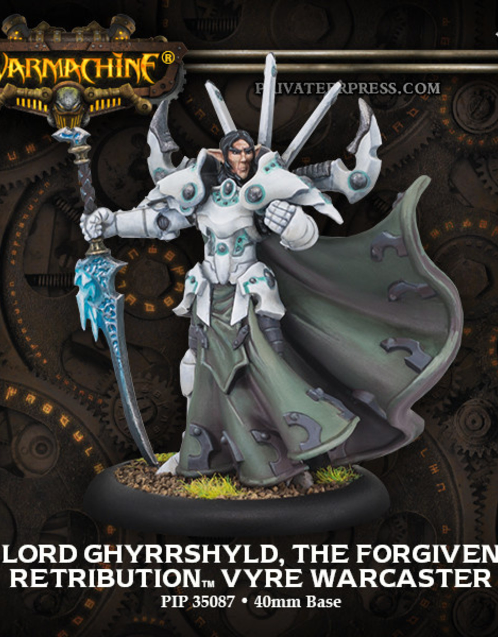 Warmachine Scyrah - Lord Gyrrshyld