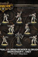 Warmachine Mercenaries - Cephalyx Mind Bender & Drudges