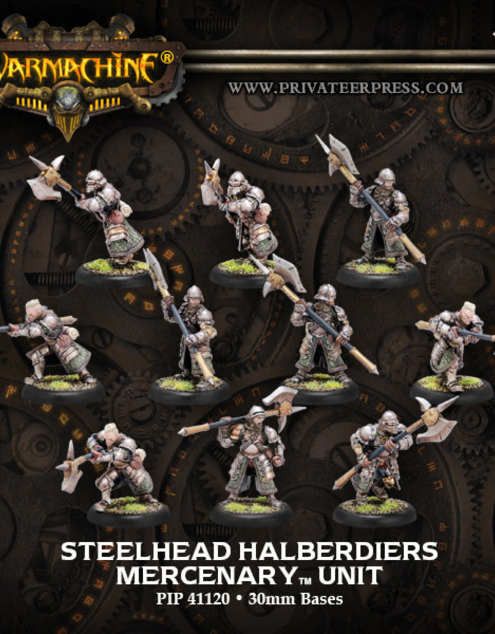 Warmachine Mercenaries - Steelhead Halberdiers/Riflemen