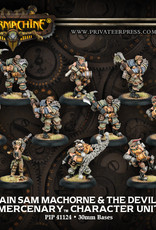 Warmachine Mercenaries - Captain Sam Machorne & Devil Dogs