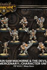 Warmachine Mercenaries - Captain Sam Machorne & Devil Dogs