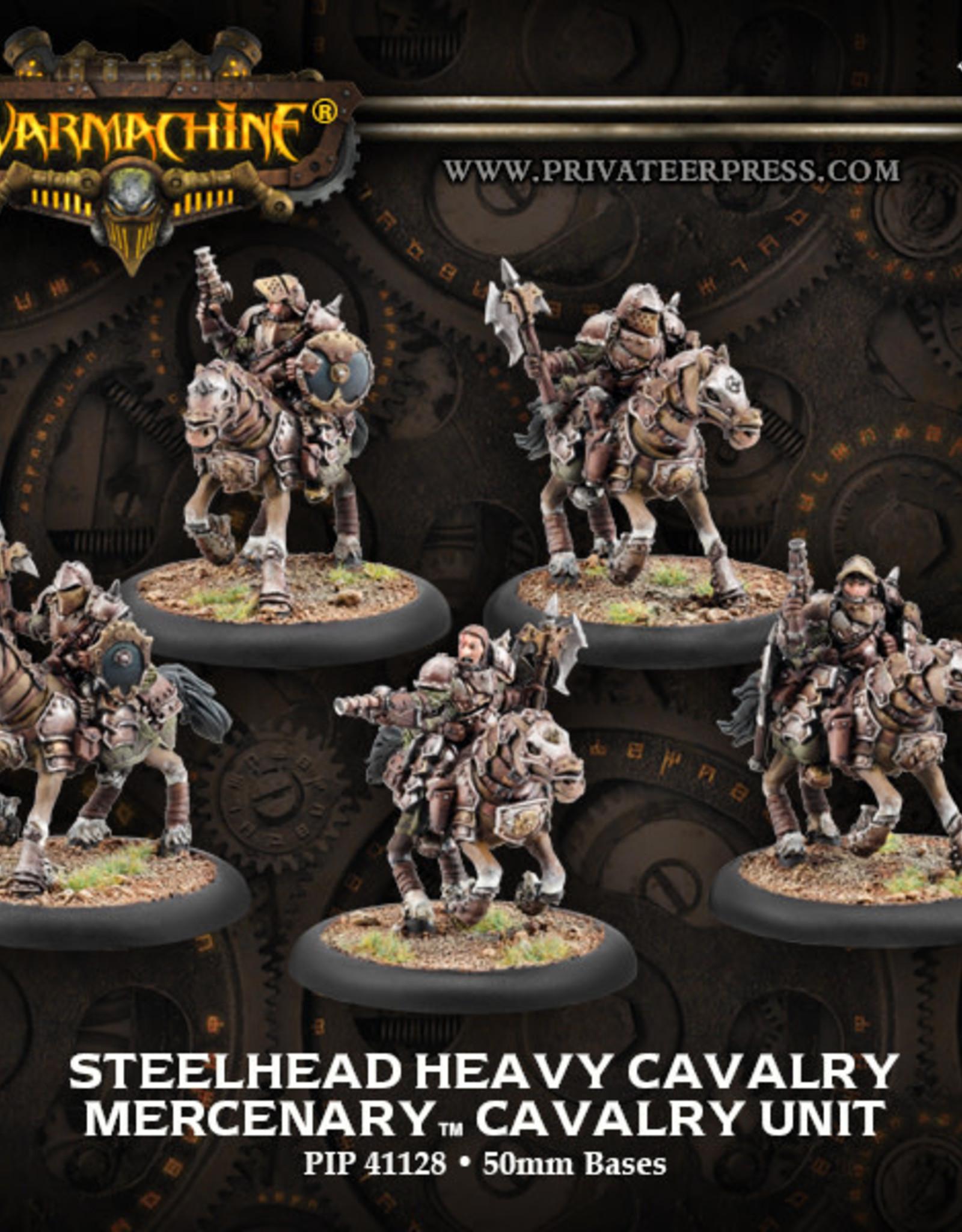 Warmachine Mercenaries - Steelhead Cavalry