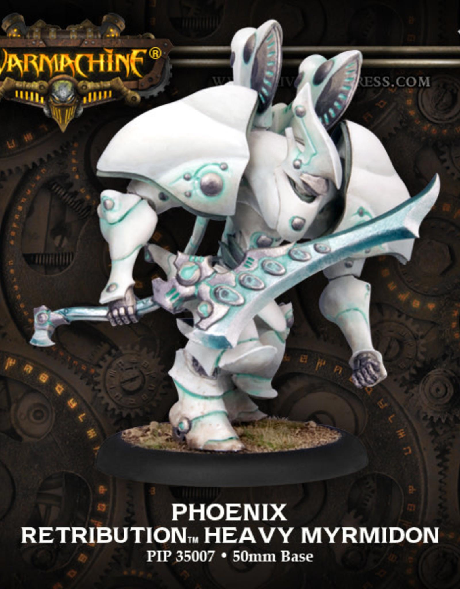 Warmachine Scyrah - Heavy Mirmidon Hydra/Manticore/Phoenix