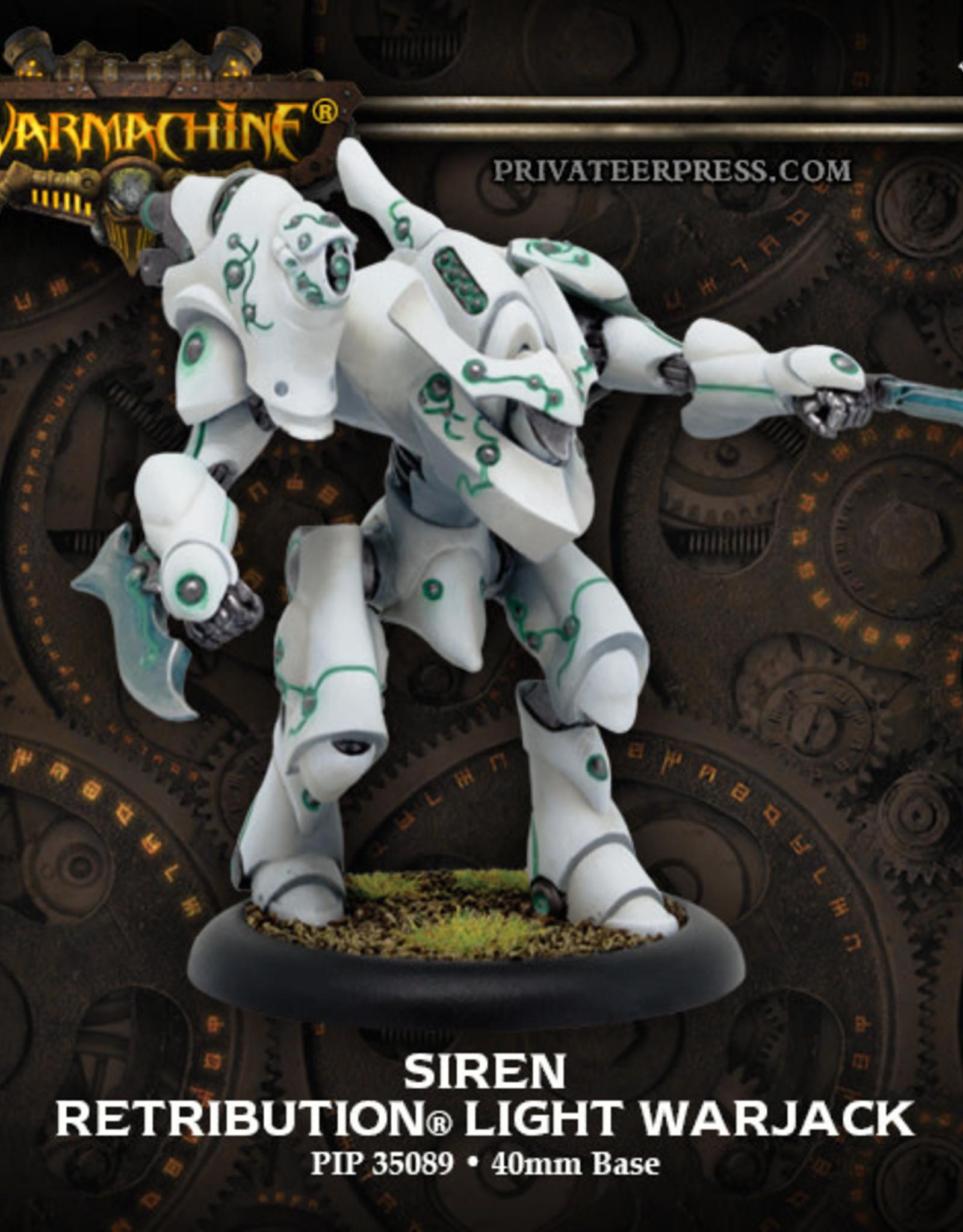 Warmachine Scyrah - Siren