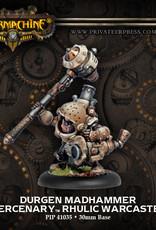 Warmachine Mercenaries - Durgen Madhammer