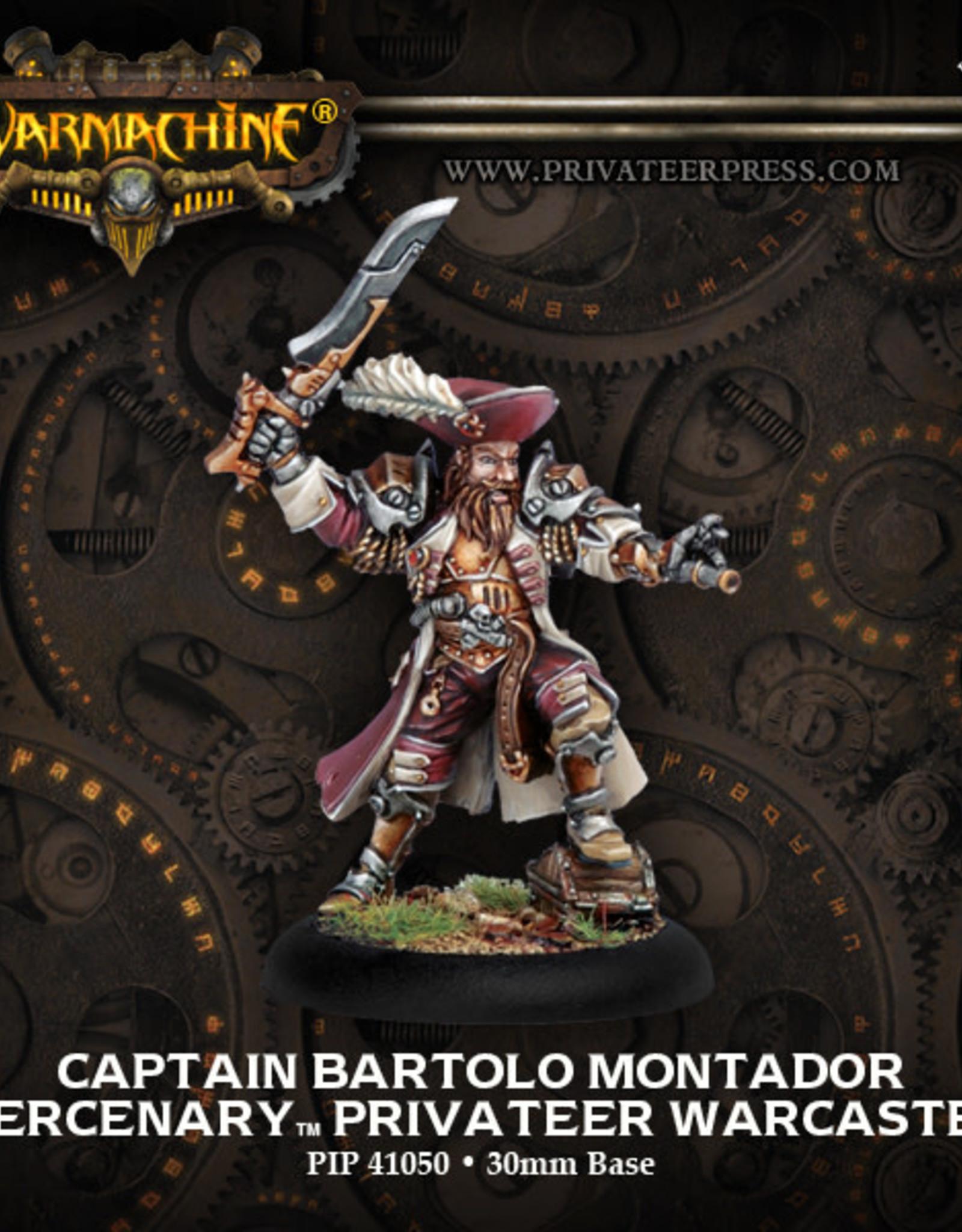 Warmachine Mercenaries - Captain Bartolo Montador
