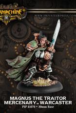 Warmachine Mercenaries - Magnus the Traitor