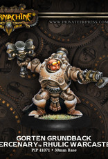 Warmachine Mercenaries - Gorten Grundback