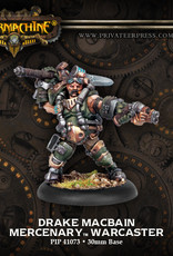 Warmachine Mercenaries - Drake MacBain