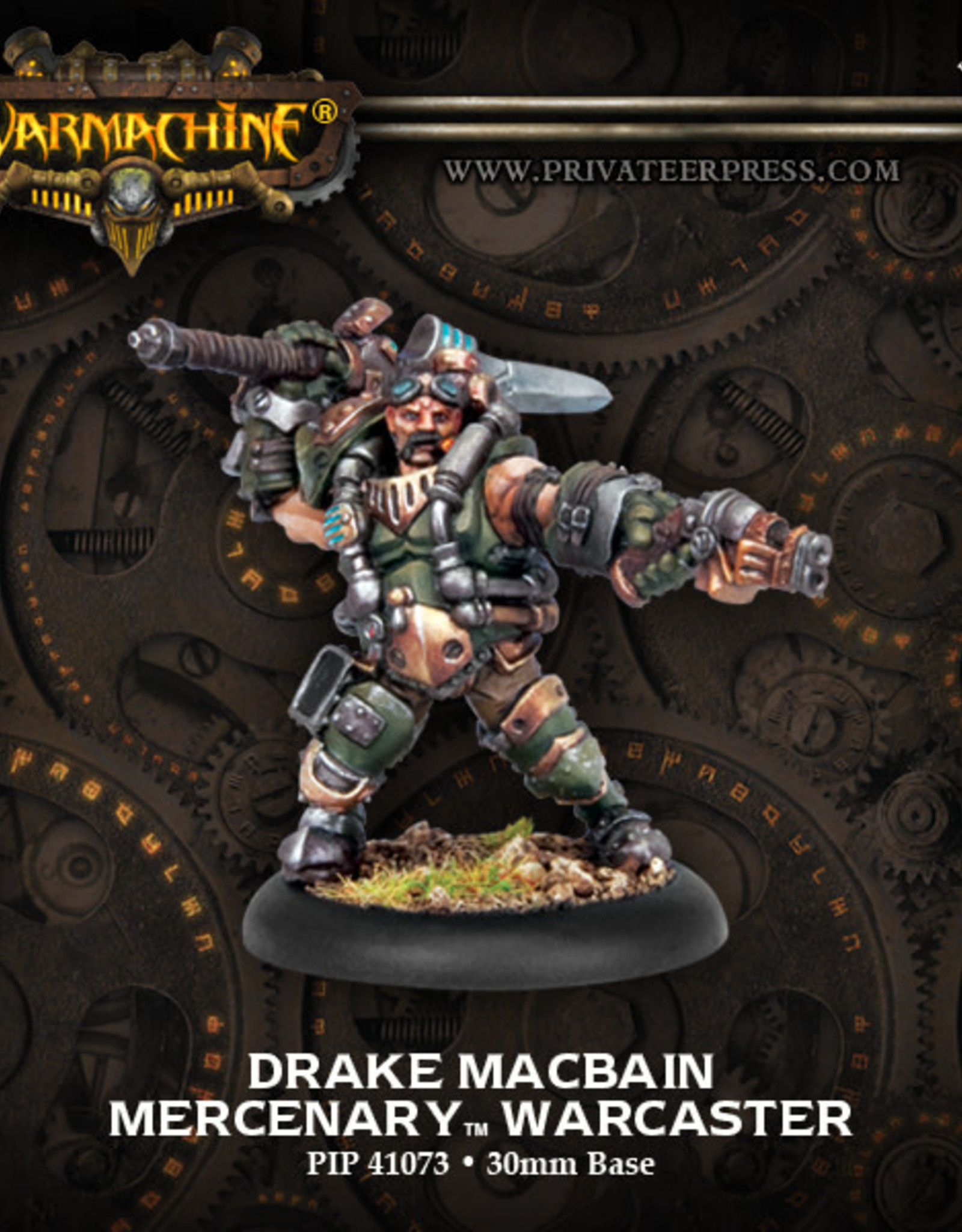Warmachine Mercenaries - Drake MacBain