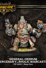 Warmachine Mercenaries - General Ossrum