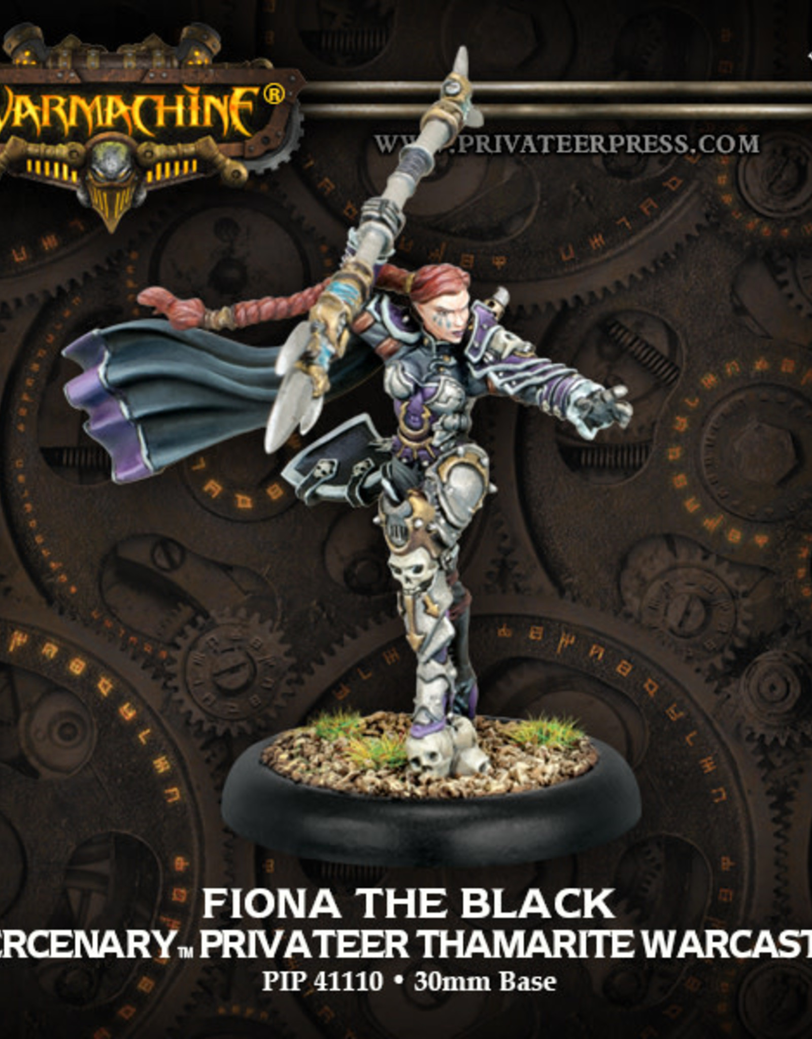 Warmachine Mercenaries - Fiona the Black