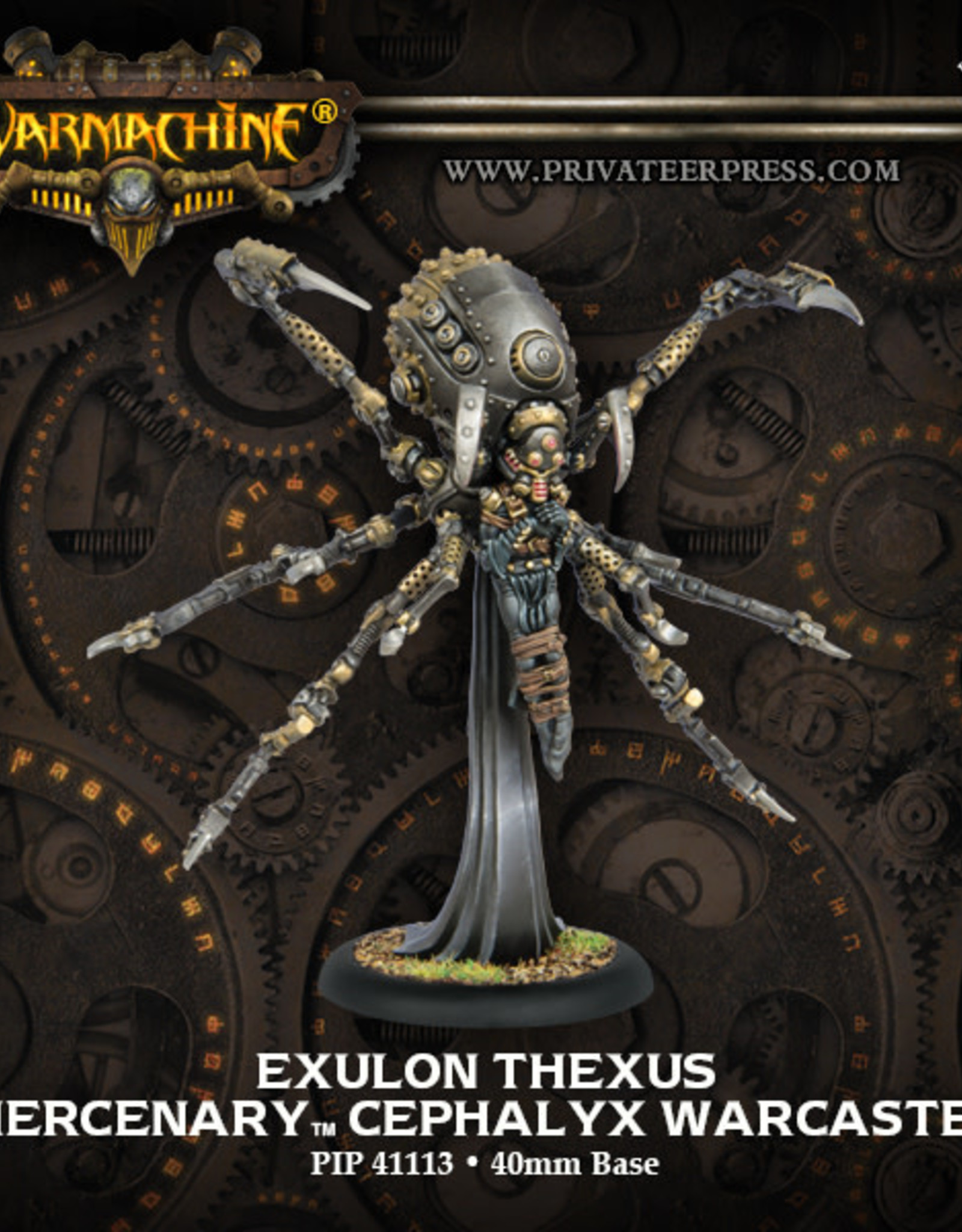 Warmachine Mercenaries - Cephalyx Exulon Thexus