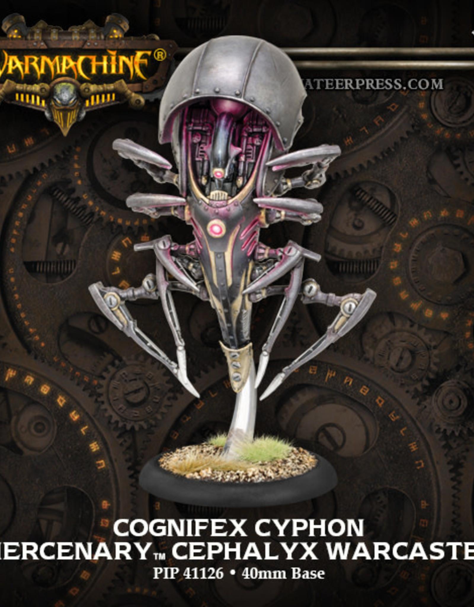 Warmachine Mercenaries - Cognifex: Cyphon