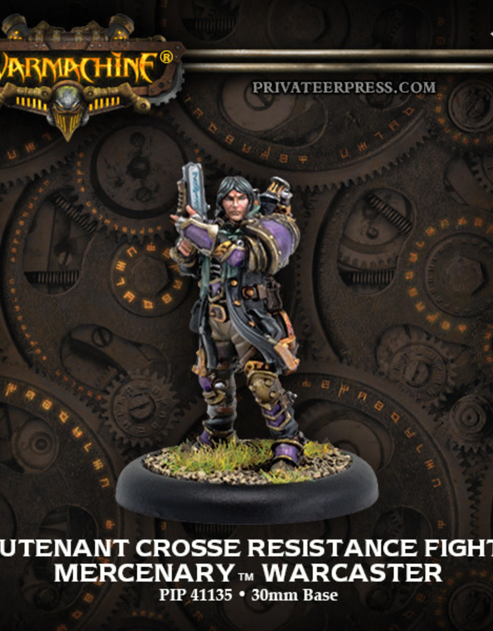 Warmachine Mercenaries - Lieutenant Crosse
