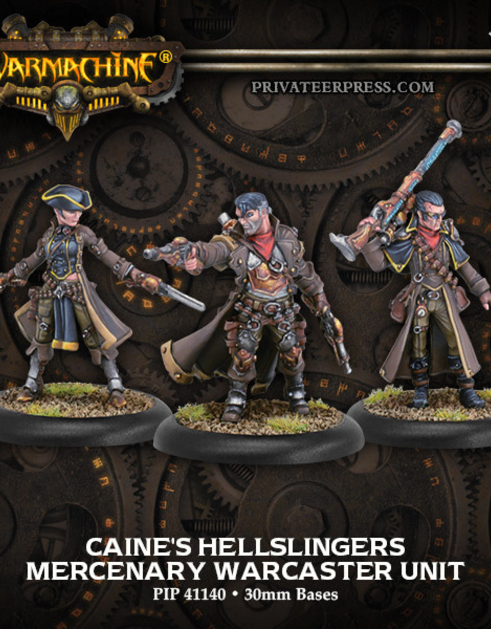 Warmachine Mercenaries - Caine's Hellsingers