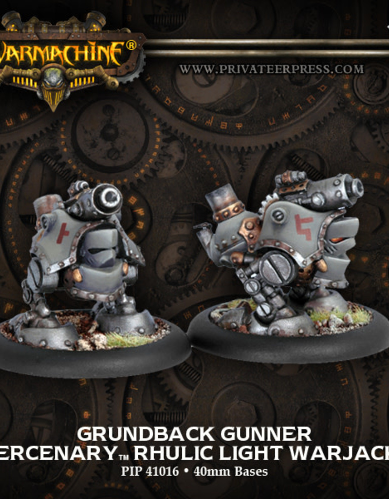 Warmachine Mercenaries - Grundback Gunner