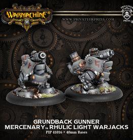 Warmachine Mercenaries - Grundback Gunner