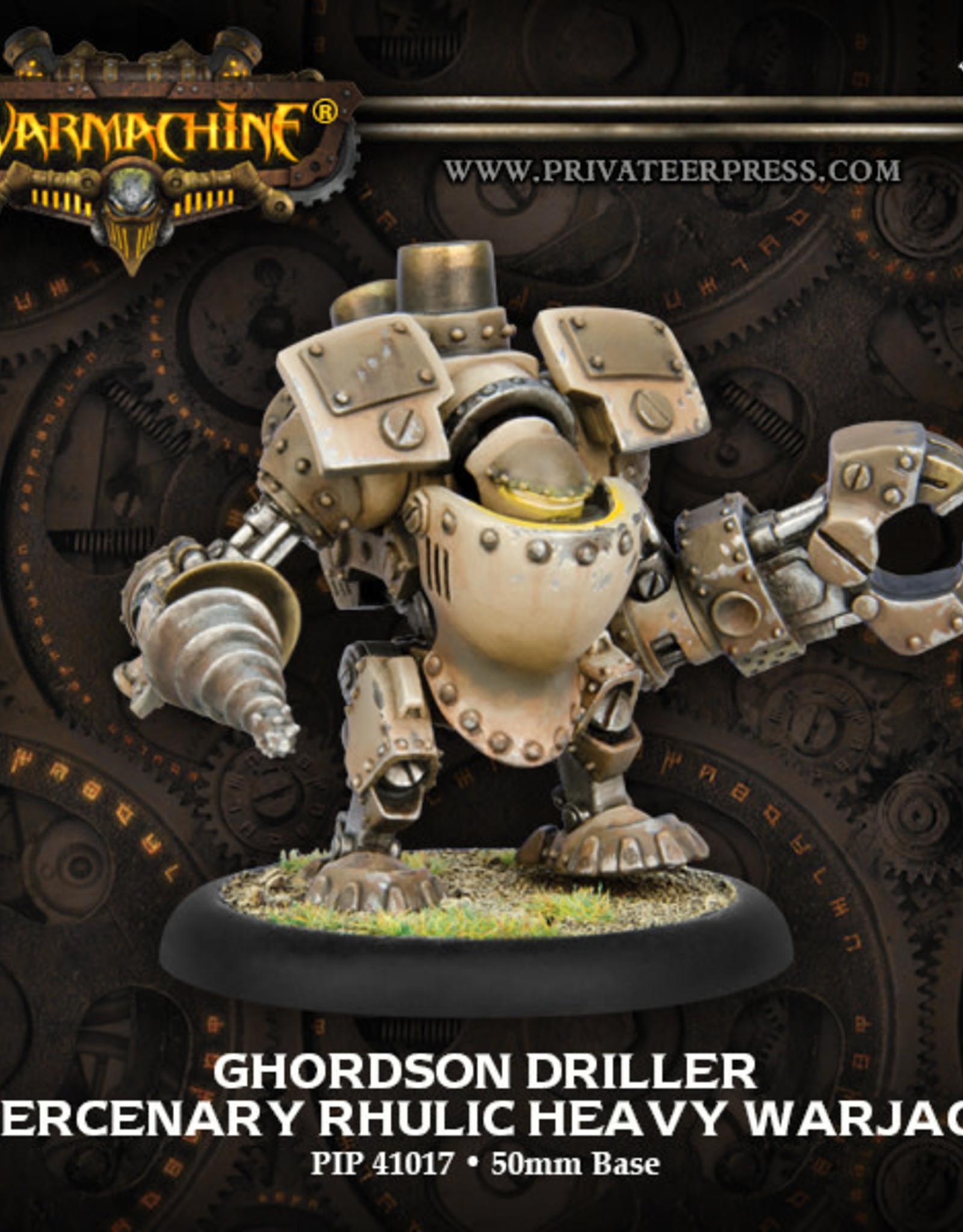 Warmachine Mercenaries - Ghordson Driller