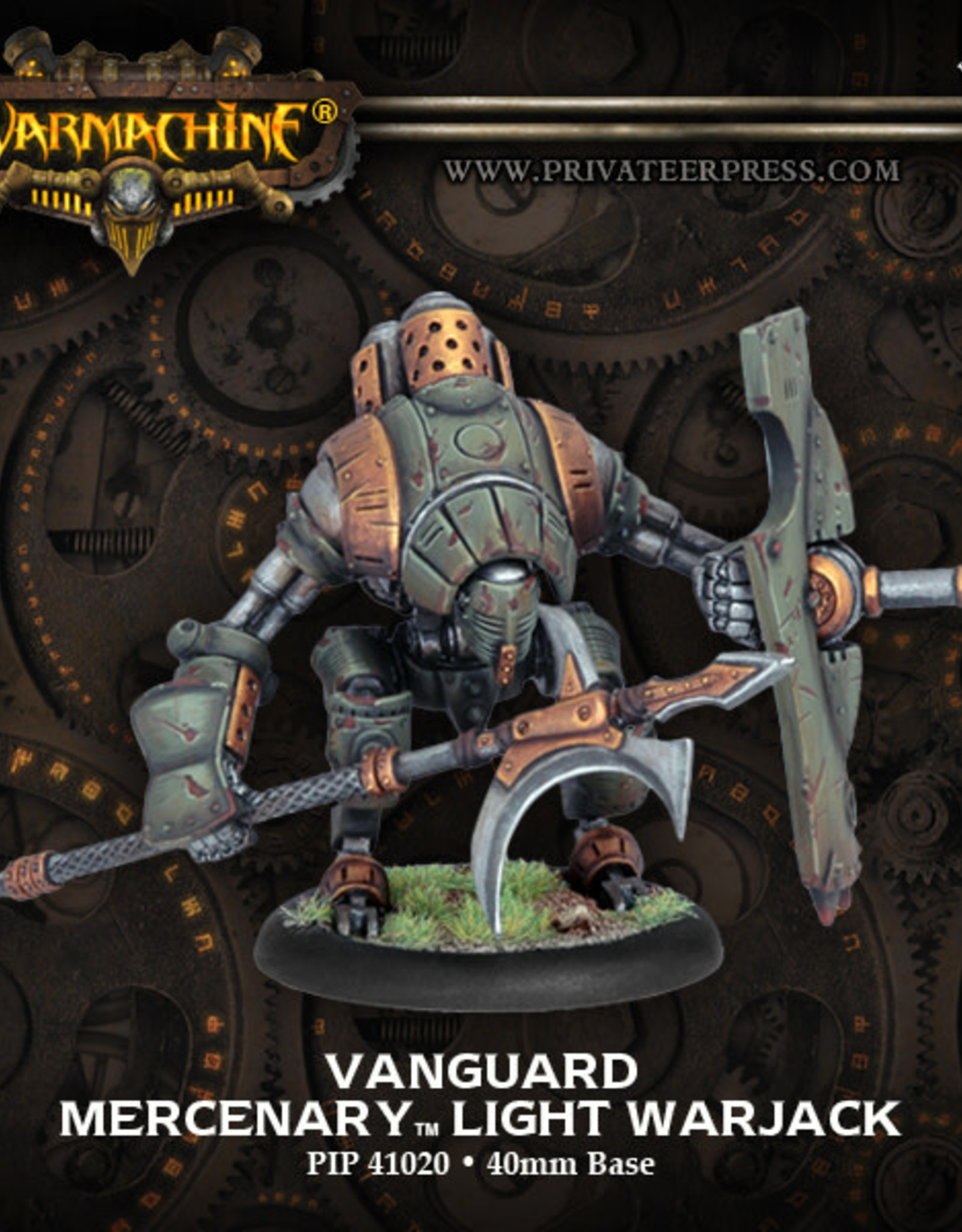 Warmachine Mercenaries - Vanguard