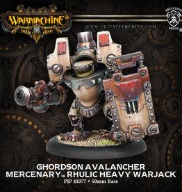 Warmachine Mercenaries - Ghordson Avalancher