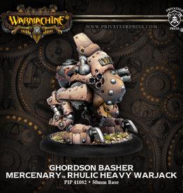 Warmachine Mercenaries - Ghordson Basher