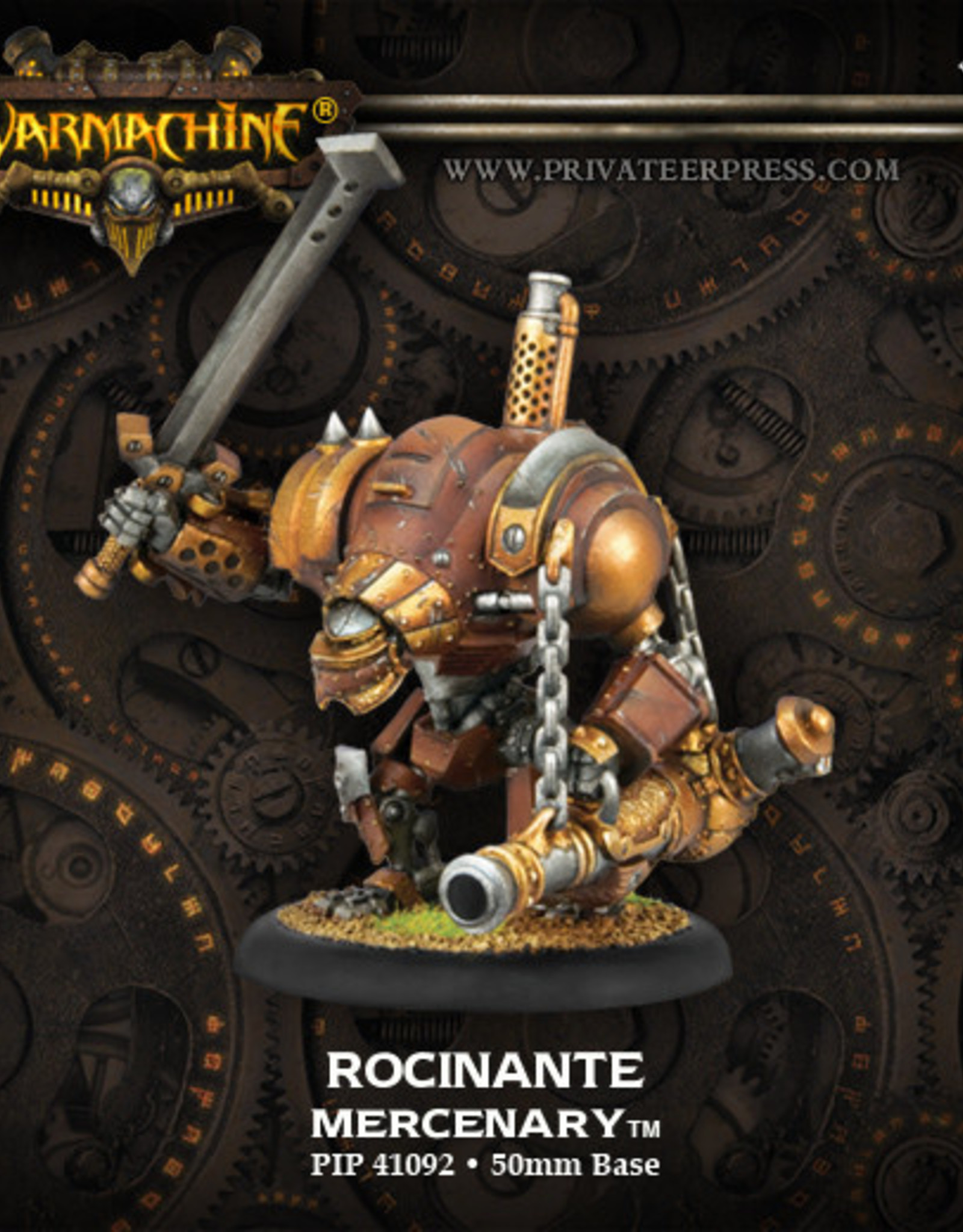 Warmachine Mercenaries - Rocinante