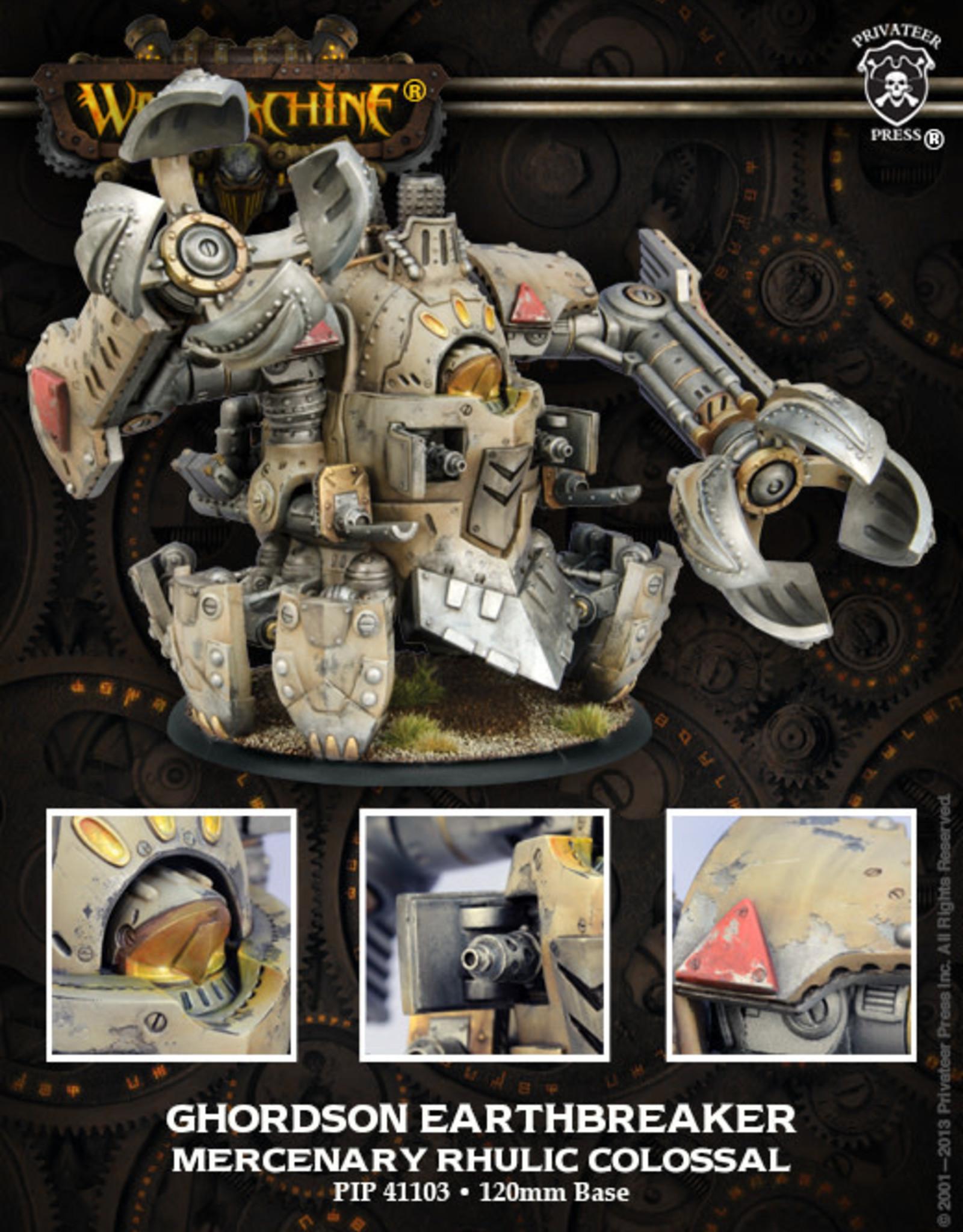 Warmachine Mercenaries - Earthbreaker