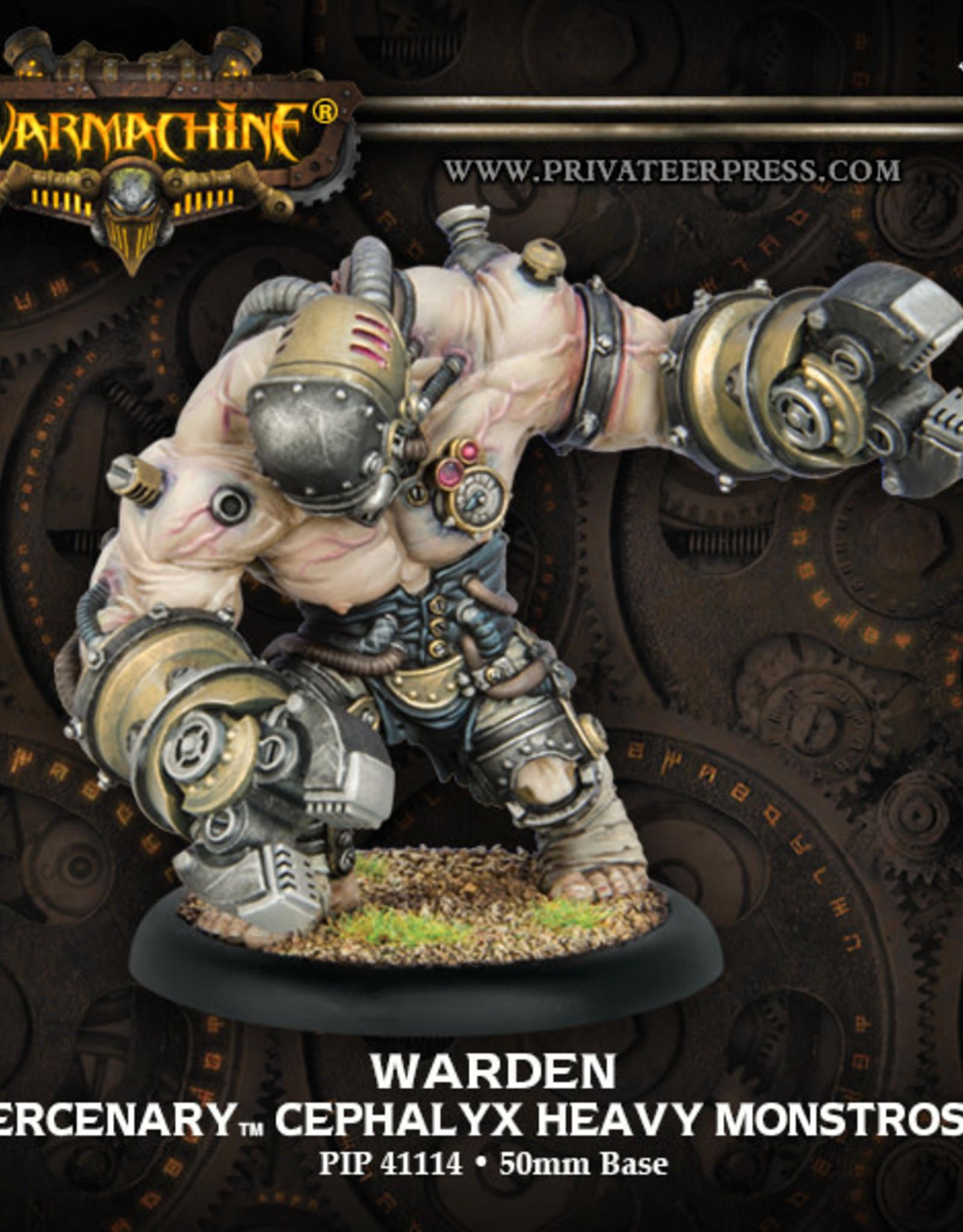 Warmachine Mercenaries - Cephalyx Subduer/Warden/Wrecker kit