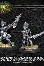 Hordes Everblight - Saeryn and Rhyas Talons of Everblight
