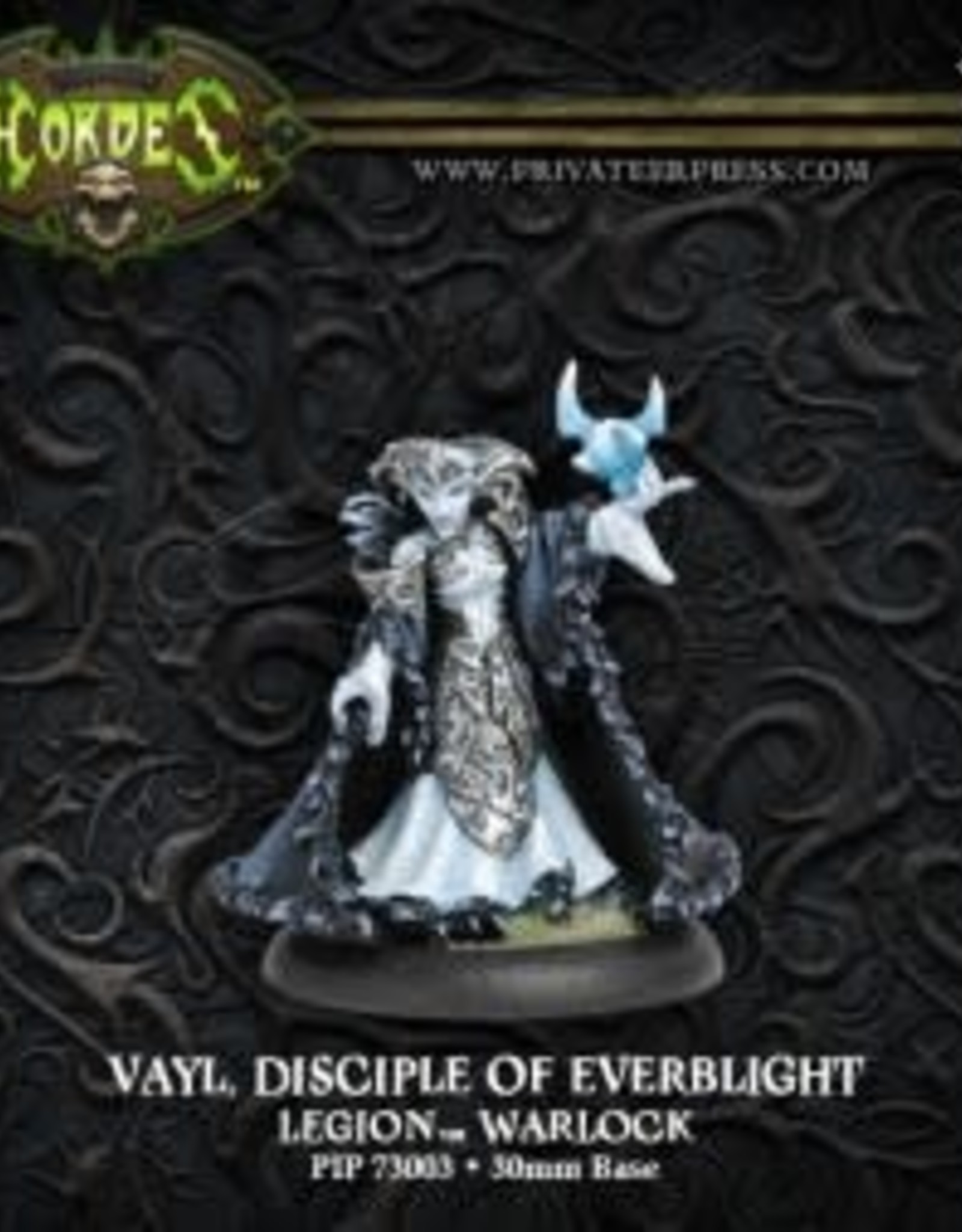 Hordes Everblight - Vayl Disciple of Everblight