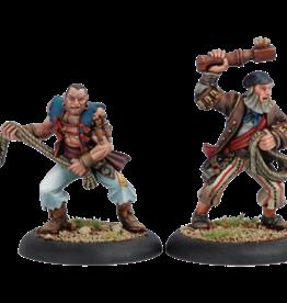 Warmachine Mercenaries - Press Gangers blister (2)
