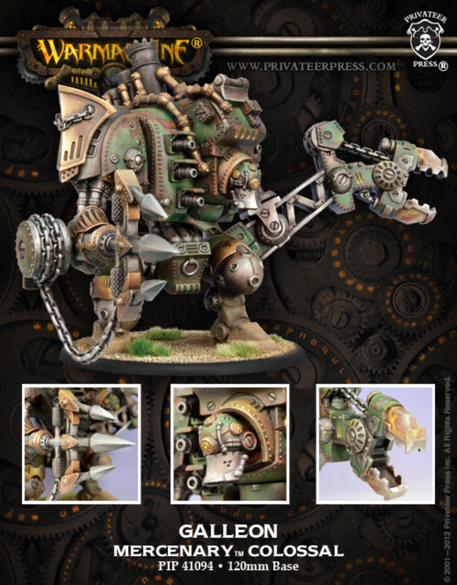 Warmachine Mercenaries - Galleon Colossal