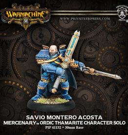 Warmachine Mercenaries - Savio Montero Aco