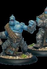 Hordes Trollbloods - Fennblade Officer & Drummer