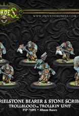 Hordes Trollbloods - Krielstone Bearer & Stone Scribes